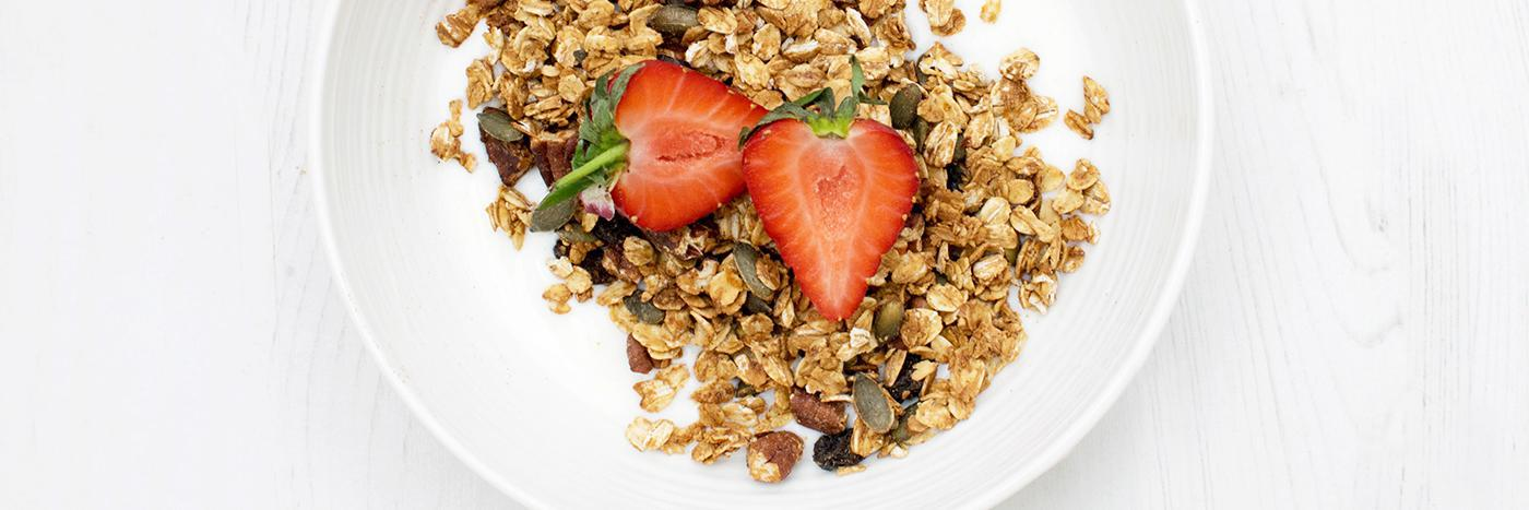 Seed and spice granola