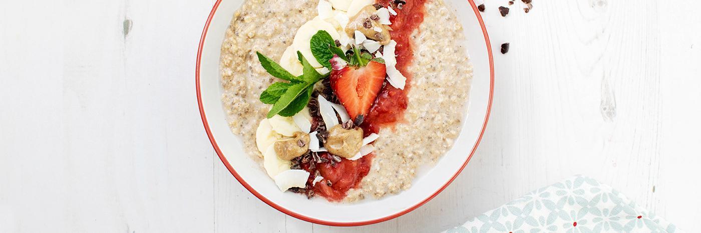 Maca overnight oats